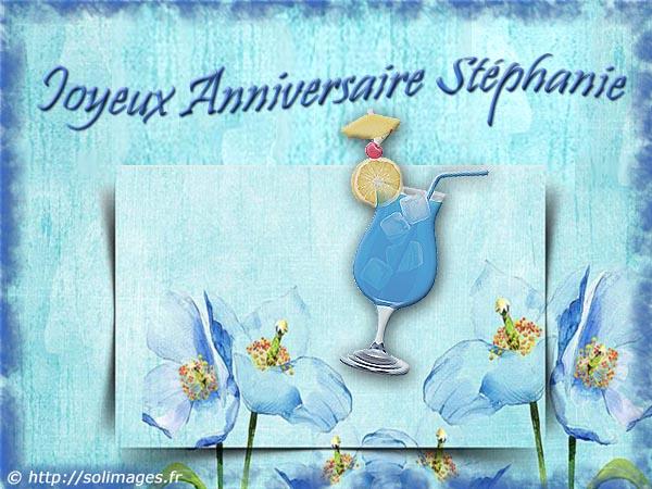 Cartes Virtuelles Solimages Bon Anniversaire Stephanie