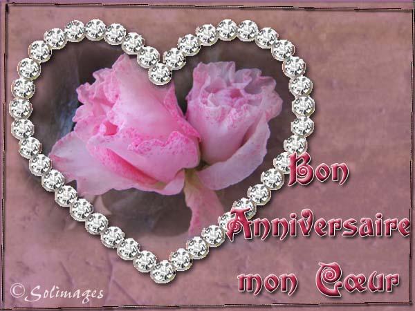 bon anniversaire mon coeur