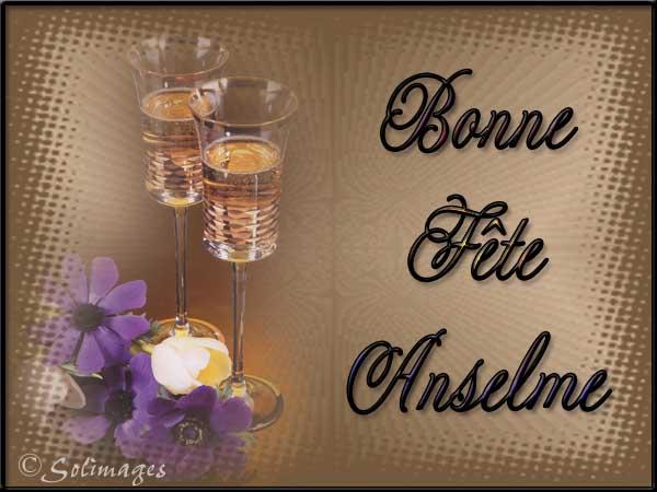 Bon samedi Anselme
