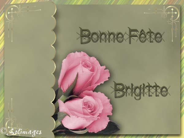 Bon Dimanche Brigitte