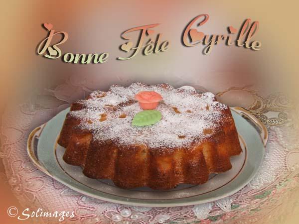 Bon Samedi Cyrille
