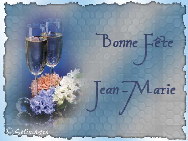 Bon Vendredi Jean-Marie