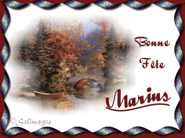 Bon jeudi Marius