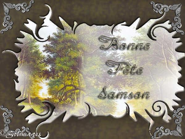 BON VENDREDI et FIN DE SEMAINE A TOUS..... Samson