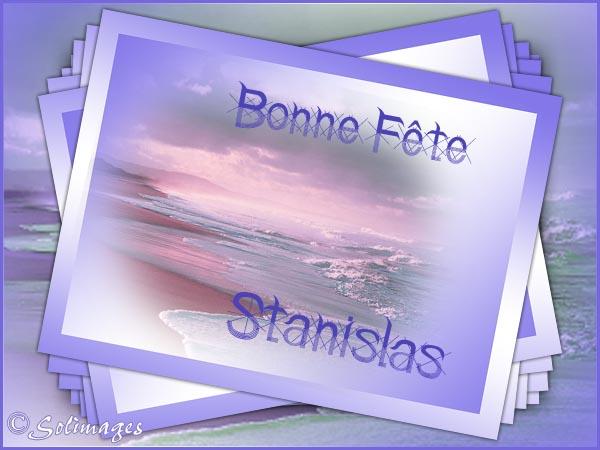 chaque jour un saint  - Page 9 Stanislas