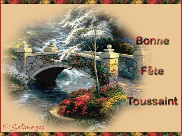 Bon Dimanche de TOUSSAINT  Toussaint