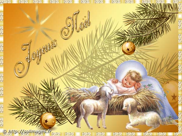 Cartes virtuelles no l - Images creches de noel gratuites ...