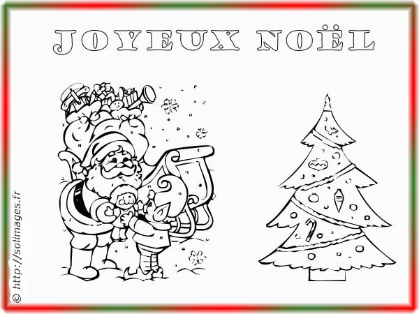 Coloriages cartes jouets no l - Dessin carte de noel ...