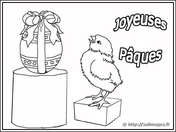 Joyeuse Paques Dessin