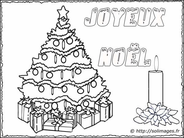 Carte coloriage joyeux no l - Image sapin de noel gratuit ...